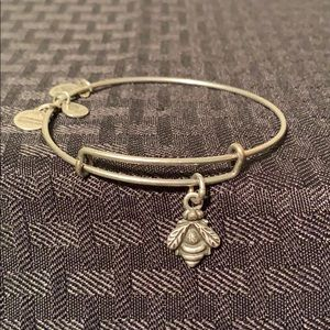 Alex and Ani Bumble Bee Charm bangle